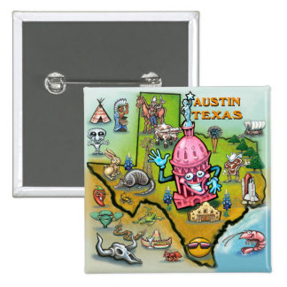Austin TX Button