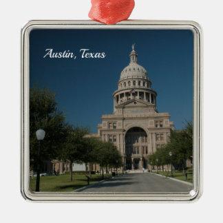 Austin, TX Capitol Building Metal Ornament