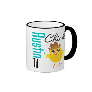 Austin TX Chick-2 Coffee Mugs