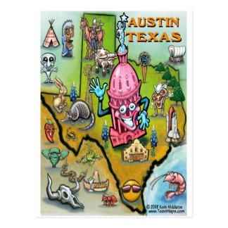 Austin TX Postcard