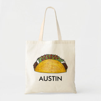 Austin TX Texas Taco Tacos Mexican Food Austinite Tote Bag