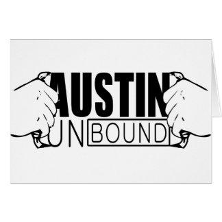 Austin Unbound - Logo Greeting Card