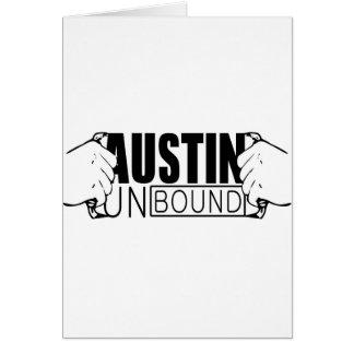 Austin Unbound Logo Greeting Card