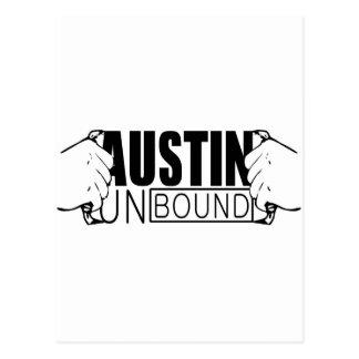 Austin Unbound Logo Postcard