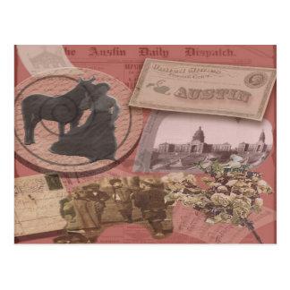 Austin Vintage post cards