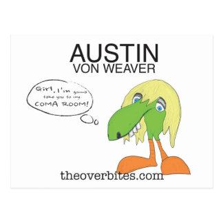 Austin Von Weaver Tarjeta Postal
