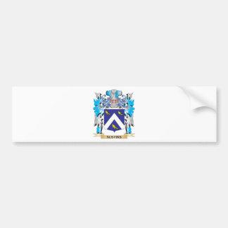 Austins Coat Of Arms Car Bumper Sticker