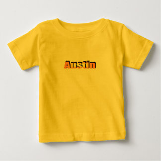 Austin's yellow t-shirt