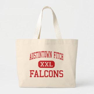 Austintown Fitch - Falcons - alto - Austintown Bolsas De Mano
