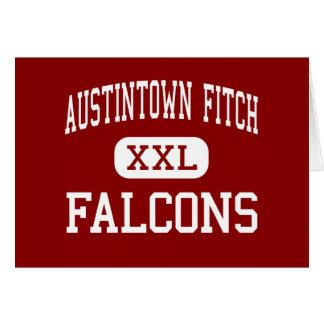 Austintown Fitch - Falcons - alto - Austintown Tarjeta