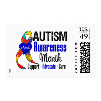 Austism Awareness Month Postage