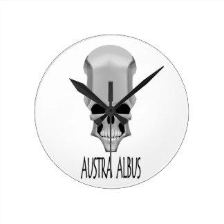 AUSTRA ALBUS ROUND CLOCK