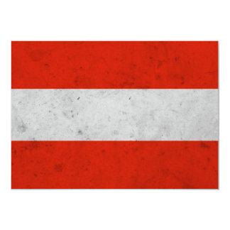 Austra Grunge Flag Card