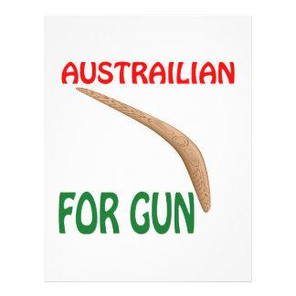 Austrailian For Gun Flyers