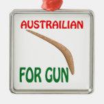 Austrailian para el arma adorno para reyes