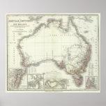 Austral-Continente Póster