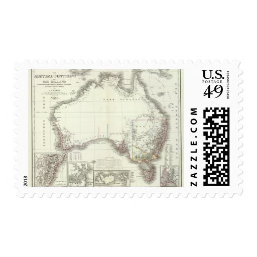 Austral-Continente Sellos
