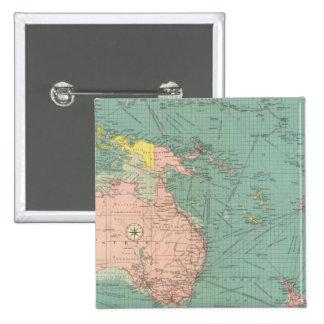 Australasian, Polynesian ports 2 Inch Square Button