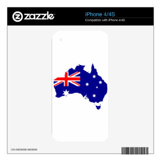 australia3 skin for the iPhone 4