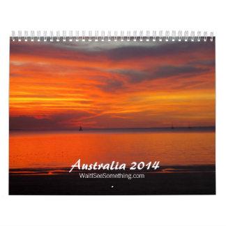 Australia 2014 calendar
