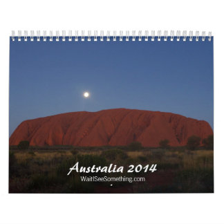 Australia 2014 calendario de pared