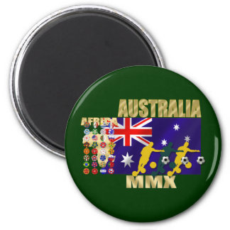Australia 32 qualified countries artwork gifts fridge magnets