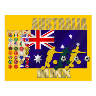 Australia 32 qualified countries artwork gifts postcards