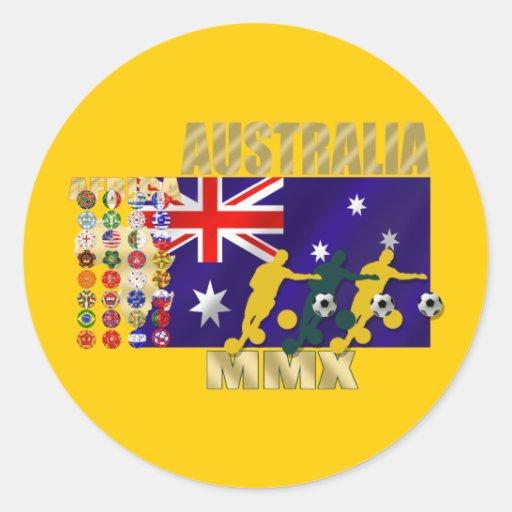 Australia 32 regalos calificados de las ilustracio etiqueta
