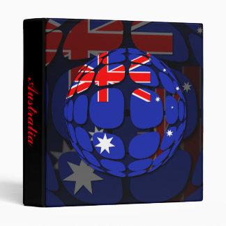 Australia 3 Ring Binder