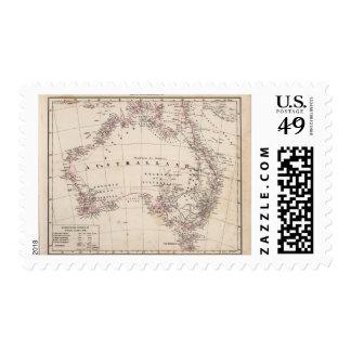 Australia 3 timbres postales