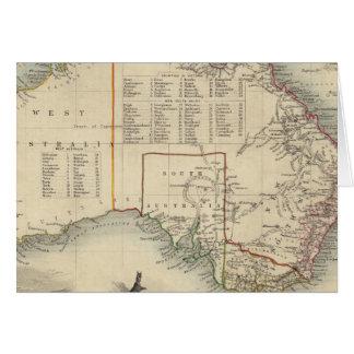 Australia 5 tarjeta de felicitación