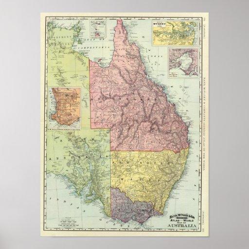 Australia 7 posters