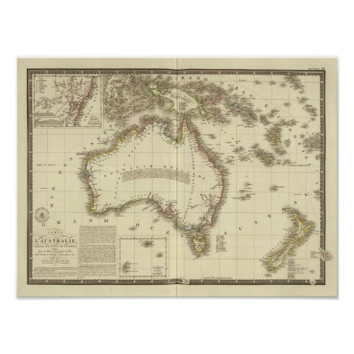 Australia 8 póster