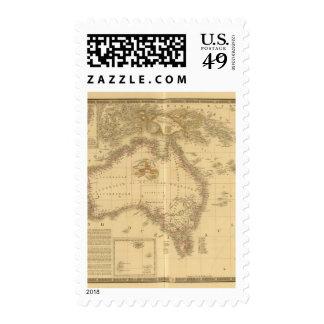 Australia 8 sellos