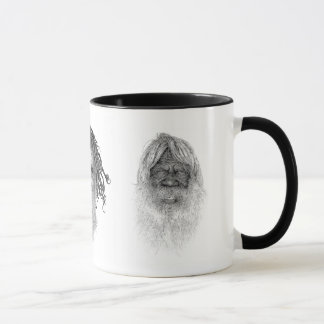 australia Aboriginal & moko Mug
