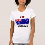 AUSTRALIA: AMO AUSTRALIA CAMISETAS