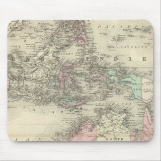 Australia and East Indies Mouse Pad