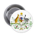 Australia AU 2 Inch Round Button