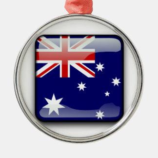 Australia | Australia Adorno Navideño Redondo De Metal