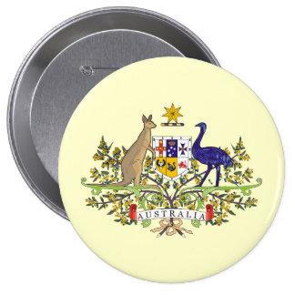 Australia, Australia Pin Redondo 10 Cm