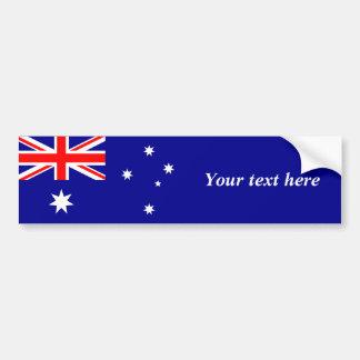 Australia – Australian Flag Car Bumper Sticker
