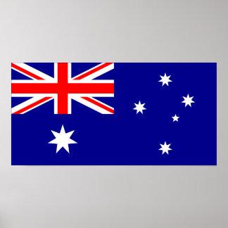 Australia – Australian Flag Poster