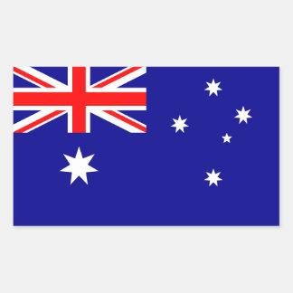 Australia/Australian Flag Rectangular Sticker