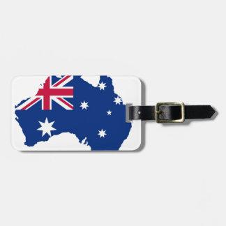 Australia bandera Australia Style diseño Etiquetas Para Maletas