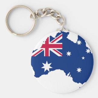 Australia bandera Australia Style diseño Llavero Redondo Tipo Pin