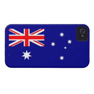 Australia - bandera australiana iPhone 4 Case-Mate fundas