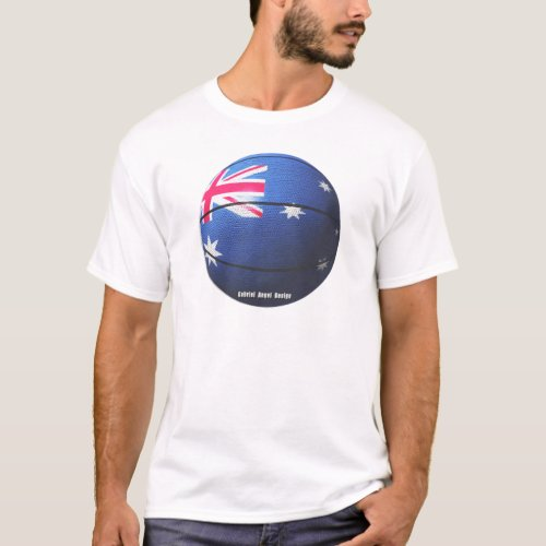Australia Basketball T_Shirt