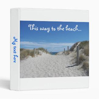 Australia Beach Binder