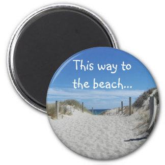 Australia Beach Magnet
