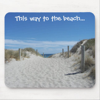 Australia Beach Mousepad